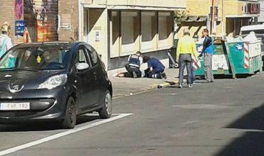 В Брюсселе женщина с мачете ранила пассажиров автобуса.