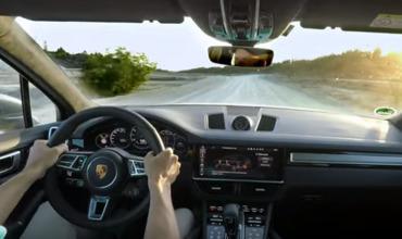 Cамый мощный Porsche Cayenne установил необычный рекорд скорости