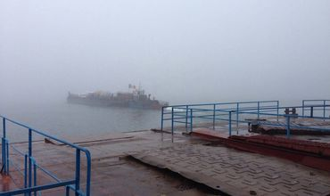 Пункт пересечения границы паромного типа «Косэуць – Ямполь» закрыт.