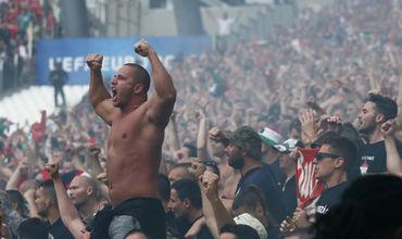 Фанаты сборной Венгрии. Фото: Eddie Keogh / Reuters