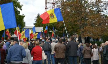 В Кишиневе прошла новая акция протеста внепарламентской оппозиции