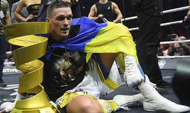 Украинского боксера Усика лишили чемпионского титула.
