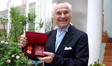 Евгений Дога был награжден в Кремле орденом Александра Невского