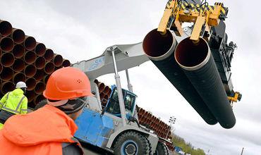 """""""Газпрому"""" осталось построить в России 40 км газопровода для """"Северного потока - 2""""."""