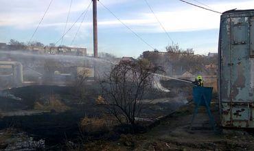 Пожарные ликвидировали возгорание оперативно — в течение получаса.