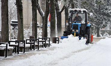 К зимнему периоду подготовлены 95% дорог Молдовы.