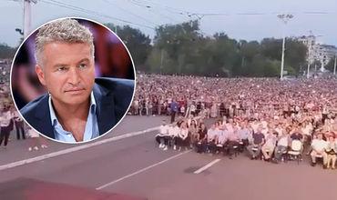 Агутин во время концерта в Тирасполе раскритиковал зрителей в VIP-ложе.