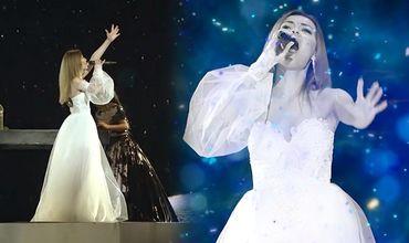 В Сети появилось видео репетиции Одобеску на сцене Евровидения.