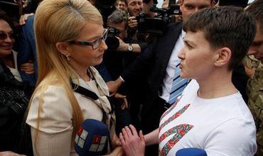 Савченко не будет голосовать за Тимошенко