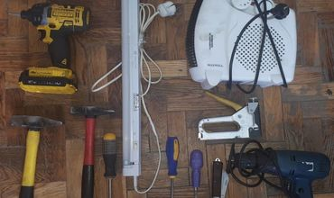 Полицейские задержали вора, укравшего инструменты.