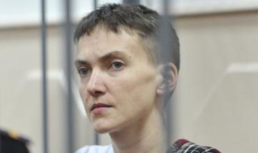 Заявившая о временном прекращении голодовки Савченко пока не принимает пищу.