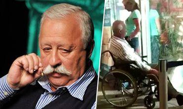 Леонид Якубович вернулся из отпуска в инвалидном кресле.