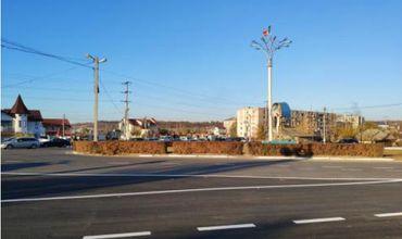 """В Хынчешть отремонтированы три улицы в рамках программы """"Хорошие дороги для Молдовы""""."""