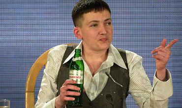 Украинская летчица Надежда Саченко.