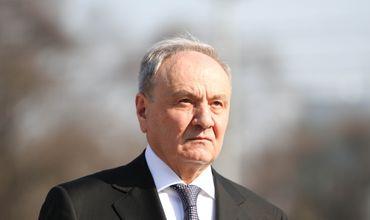 Николай Тимофти не поедет в Москву на Парад Победы