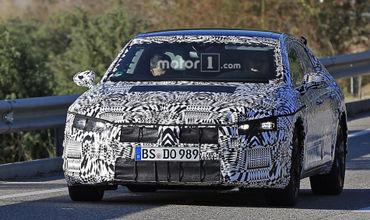 Появились первые фото нового Volkswagen Arteon