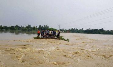 В Непале 17 человек погибли из-за наводнений и оползней.
