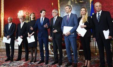 В Австрии назначили правительство меньшинства.