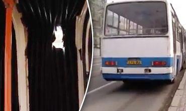 Люди жалуются на холод в автобусах рейса Кишинев-Гидигич.