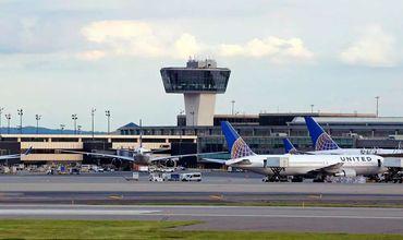 Работу аэропорта в Ньюарке парализовали дроны