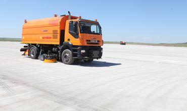 Работы на первом сегменте перрона кишиневского аэропорта завершены.
