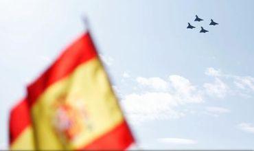Eurofighter prăbușit la paradă de Ziua Spaniei. Foto: reuters.com