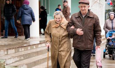 Тираспольчане активно выбирают Президента России