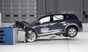 Кроссовер Hyundai Nexo получил высшую оценку в краш-тестах