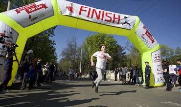 В Бельцах проходит первый полумарафон Balti Half Marathon