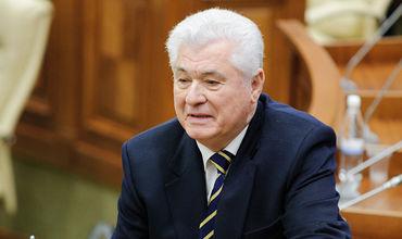 Лидер Партии коммунистов Владимир Воронин.