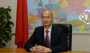 Китайский посол в Молдове Чжан Инхун.