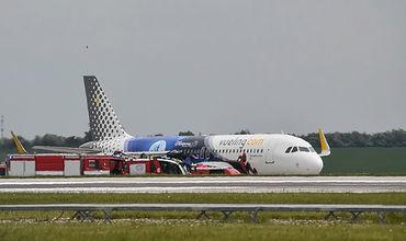В аэропорту Праги столкнулись два самолета.