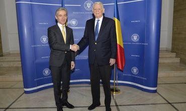 Вице-премьер Юрие Лянкэ провел встречу с главой МИД Румынии.