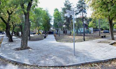 В Кишинёве открыт ещё один отреставрированный сквер