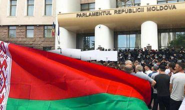 Белорусская община РМ призывает не противостоять новой власти.