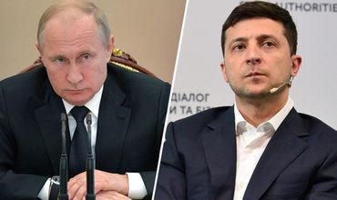 В Кремле оценили разговор Путина и Зеленского.
