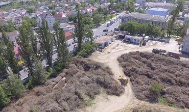 Опасность возникновения пожаров в центре Кишинева сохраняется.