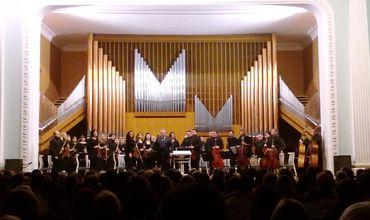 Органный зал в Кишиневе отмечает свой 40-летний юбилей.