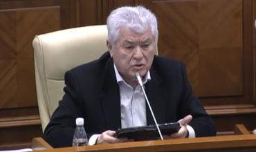 Лидер Партии Коммунистов Республики Молдовы Владимир Воронин.