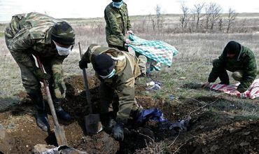 В ЛНР сообщили о массовом захоронении украинских силовиков.