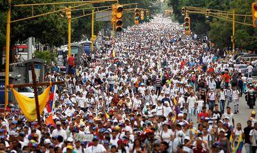 Число протестных акций в Венесуэле превысило шесть тысяч.
