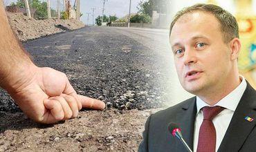 Канду: Примары говорят, что не получали деньги на ремонт дорог.