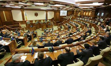 Инициатива ЛП не получила поддержки большинства присутствующих в зале депутатов. Фото: tvrmoldova.md.