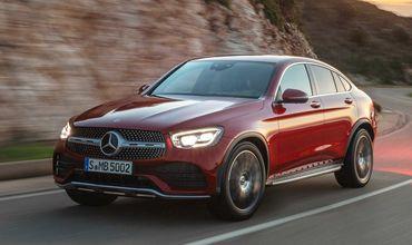 Mercedes-Benz обновил кроссовер GLC Coupe