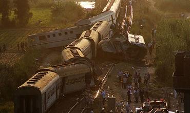 В пятницу на линии в пригороде Александрии столкнулись поезда, следовавшие из Каира и из Порт-Саида.