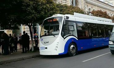 В Кишинёве появятся ещё пять новых троллейбусов.