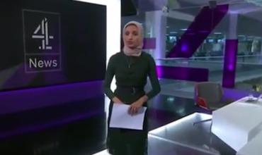 Телеведущая в хиджабе вызвала скандал в Британии.