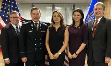 Глава Пограничной полиции Молдовы побывал с визитом в США.