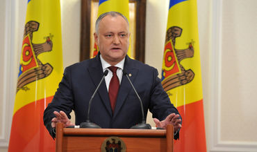 Президент Республики Молдова Игорь Додон.