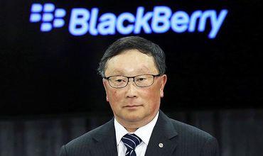 Исполнительный директор компании BlackBerry Джон Чен.
